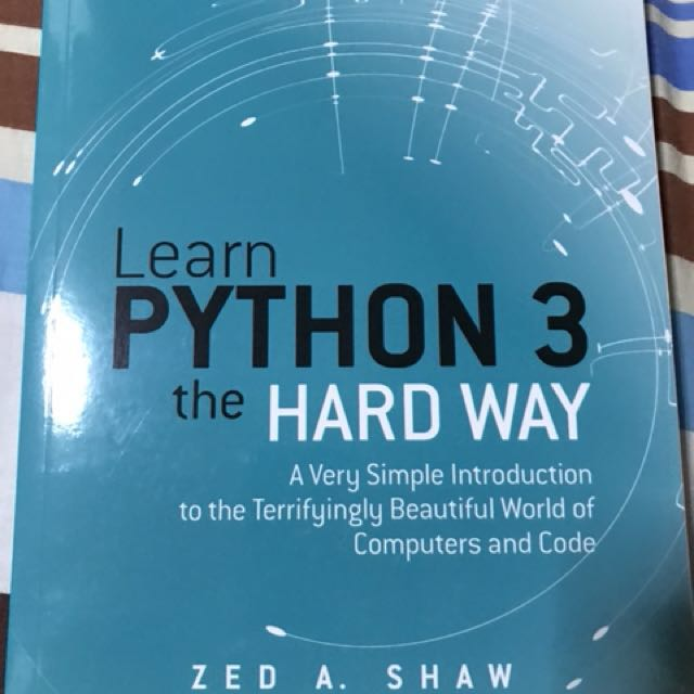 Learn Python 3 the Hard Way, Books & Stationery, Fiction on