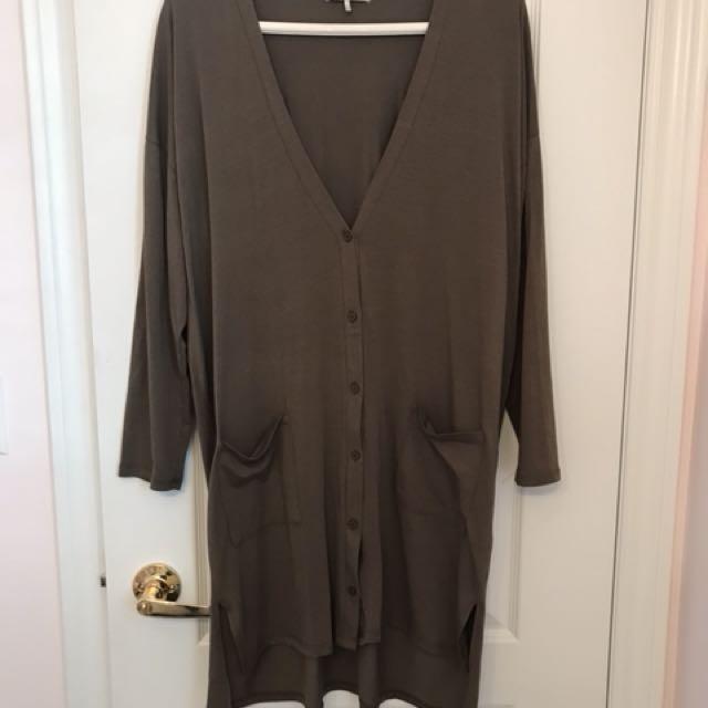 Long, Oversized Cardigan