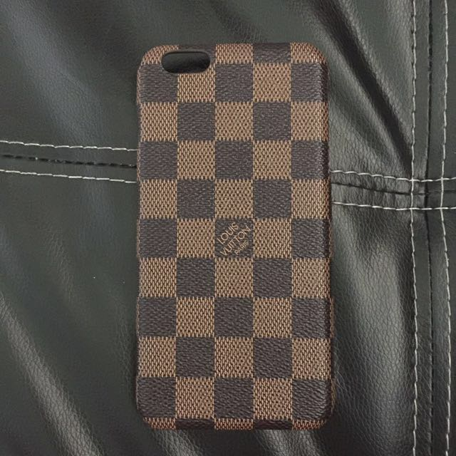 Louis Vuitton Iphone 6plus Leather Case