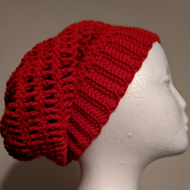 2a9cd65d5ab Made to order slouchy hat beanie treble