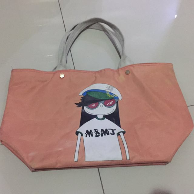 Marc jacobs tote bag shoulder tas jinjing original aunthentic
