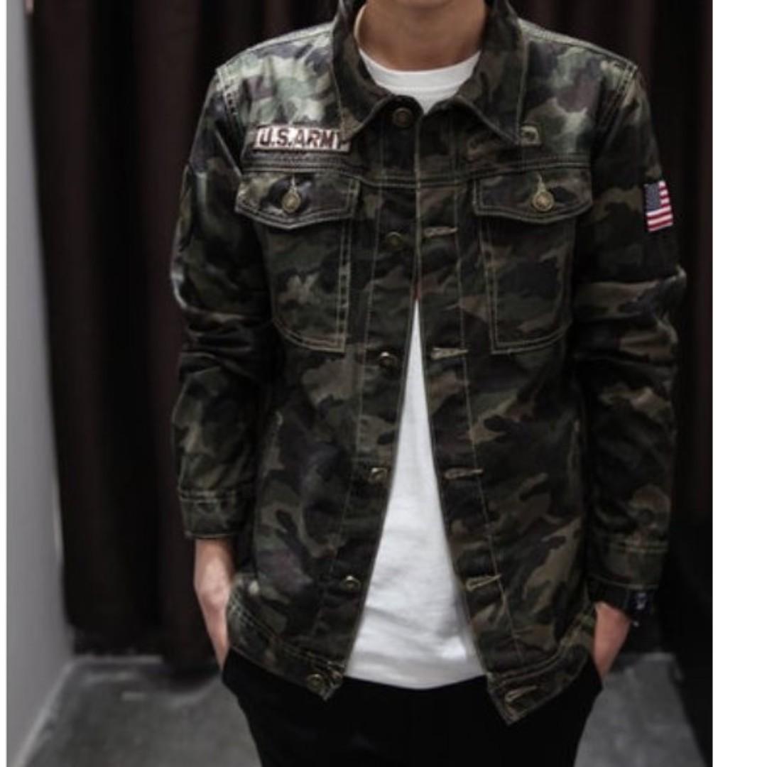 Men - Camo Jacket MT5084