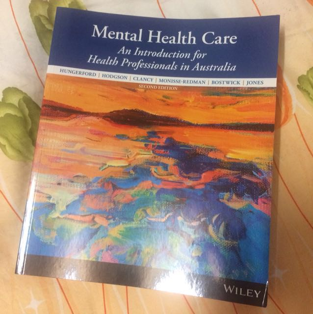Mental Health Care Book