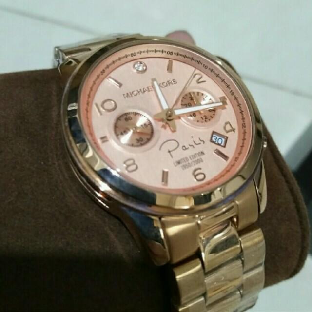 Michael Kors Paris Limited Edition Watch ORIGINAL