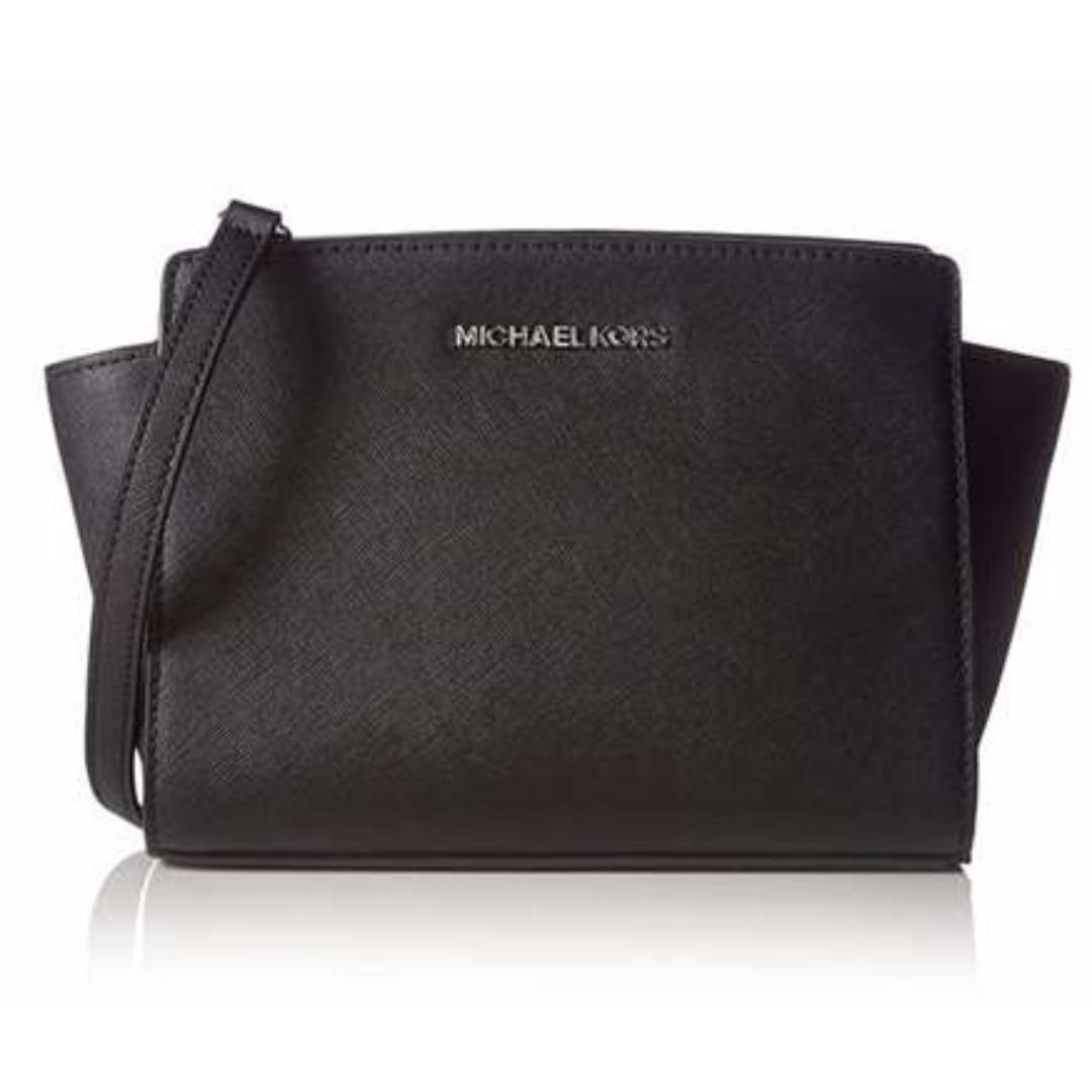 3294dc40ab2e7 Michael Kors Selma Medium Messenger Bag
