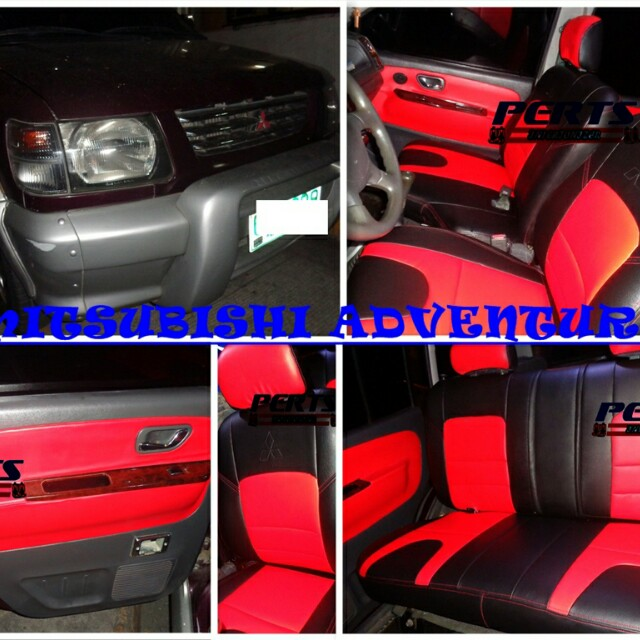 Surprising Mitsubishi Adventure Seat Cover On Carousell Bralicious Painted Fabric Chair Ideas Braliciousco