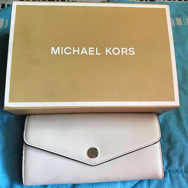 MK Greenwich Carry All Leather Wallet