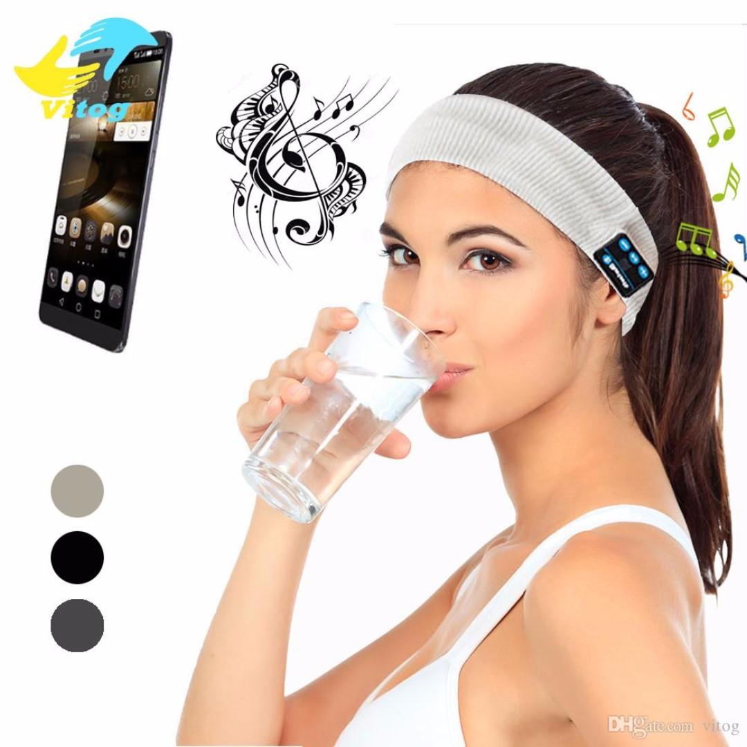 b70813178ff New Wireless Sleeping Earphones Headband Bluetooth, Sports, Sports ...