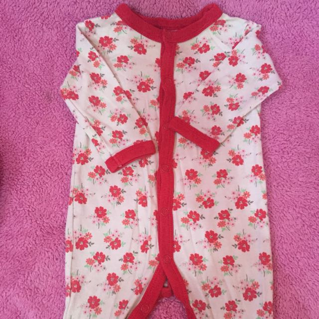 NEXT sleepsuit flower