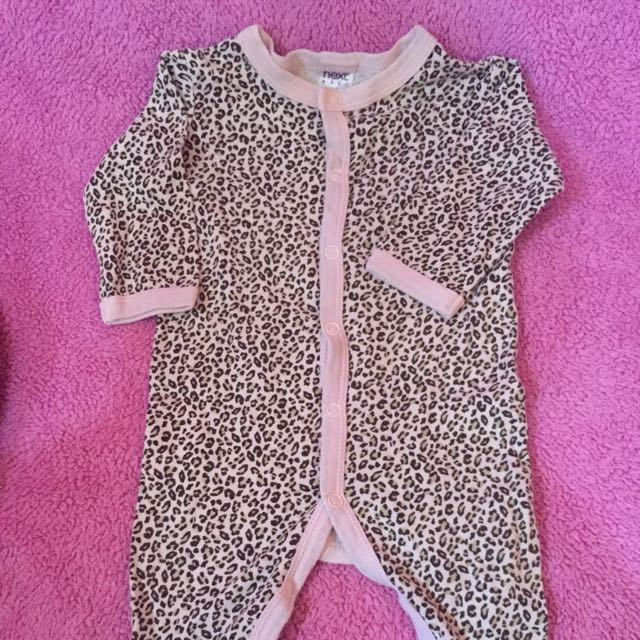 NEXT sleepsuit leopard