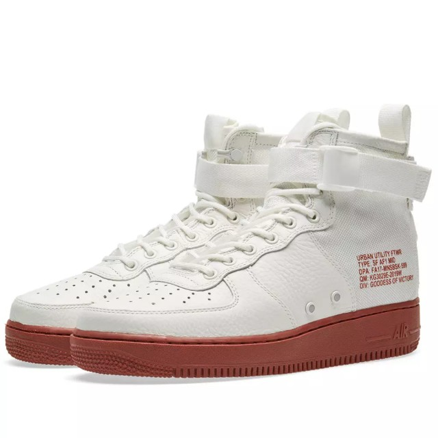 quality design 9f0ed ae79a AUTHENTIC Nike Air Force 1 Mid IVORY SF