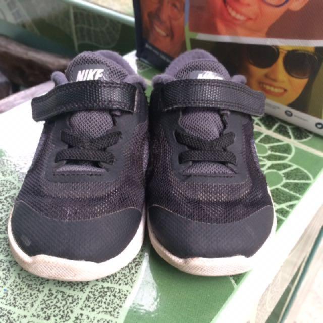 Nike Shoes Free Run Black for Toddler