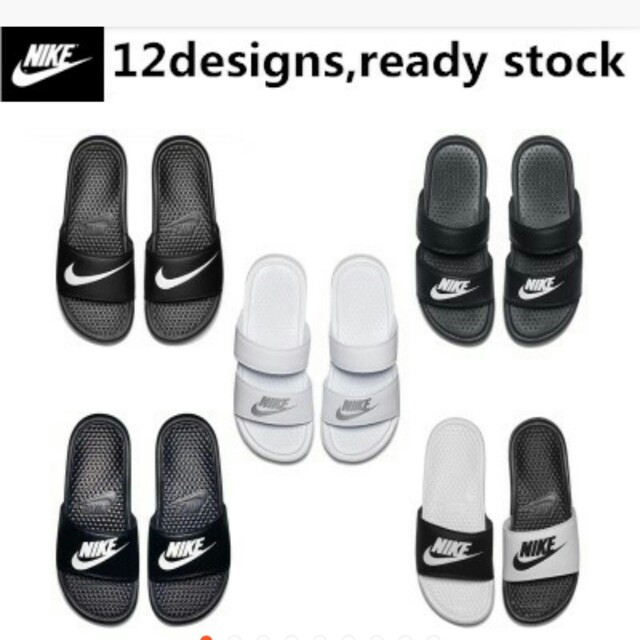 sports shoes 68b01 1046f Nike Slippers, Men's Fashion, Footwear, Slippers & Sandals ...