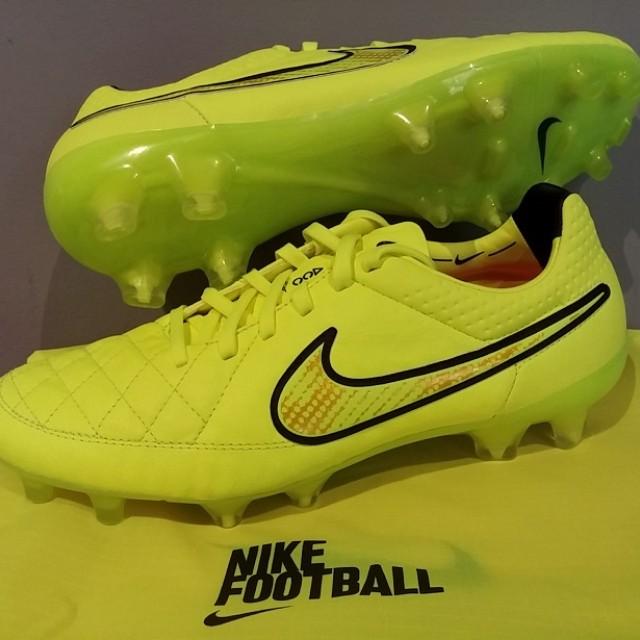 online store 24467 f86ea NIKE Tiempo Legend V FG Kangaroo Leather Football Soccer ...