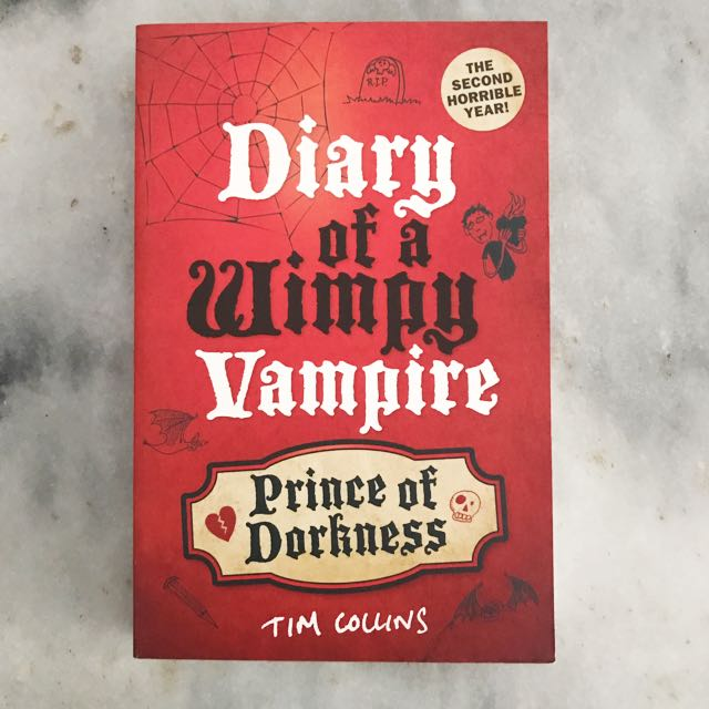 Novel Diary of a Wimpy Vampire: Prince of Darkness