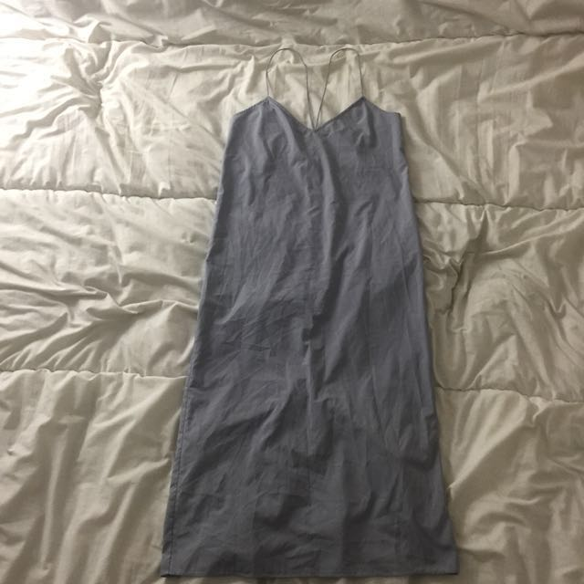 OAK+FORT SLIP DRESS (LONG)