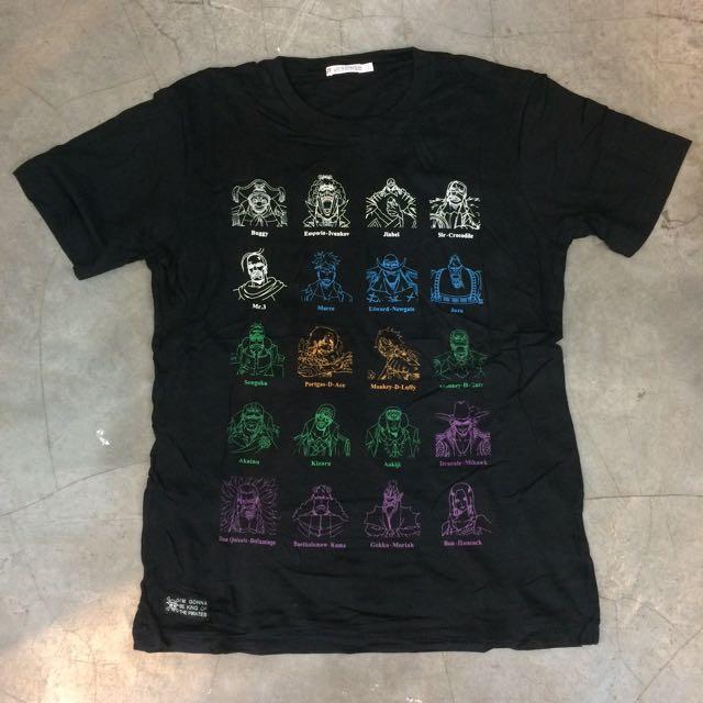 one piece tshirt by uniqlo