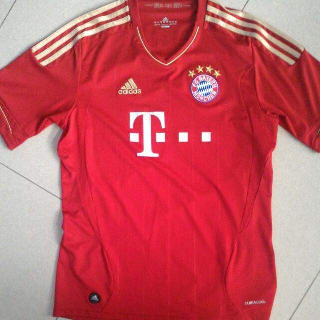 new product db508 222c0 Original Adidas Bayern Munich climacool t-shirt, Sports ...