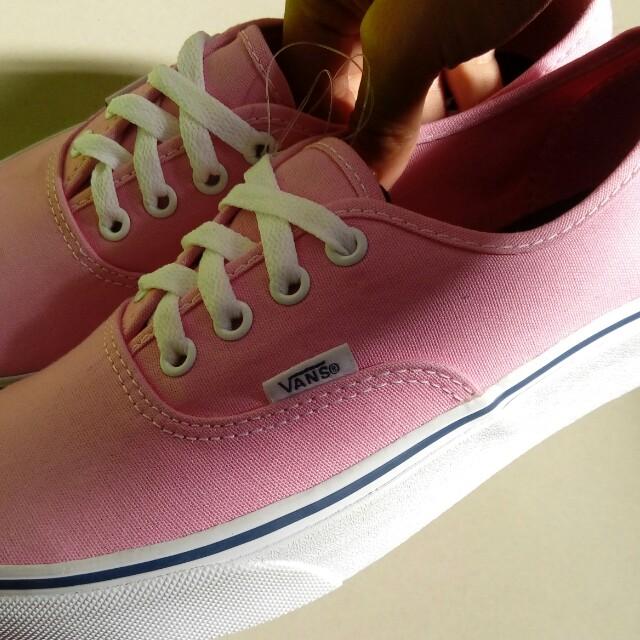 63e72b3d69a6 Authentic Vans Prism Pink REPRICED