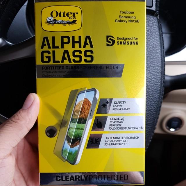 new concept 36ce7 e5cb9 Otterbox Alpha Glass - Samsung Galaxy Note 8