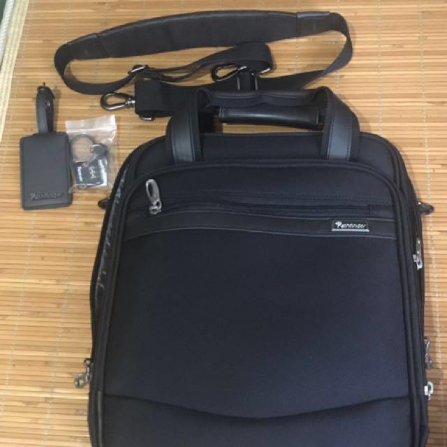 Pathfinder經典耐用 13吋直立式商務包(手提&斜背包)