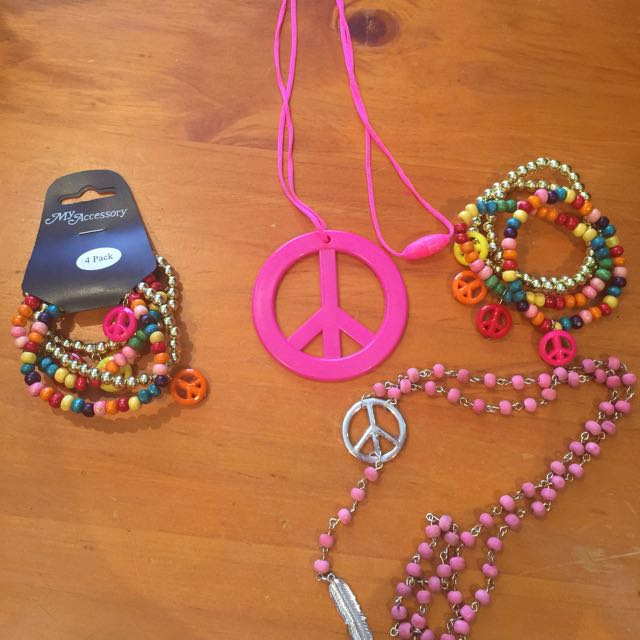 Peace Sign Necklaces and Bracelets