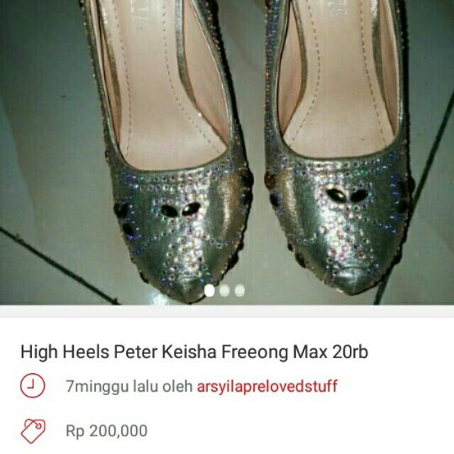 Peter keisha size 36