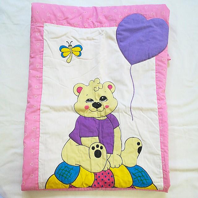 Pink Crib Sheet / Bedding for Baby Girls