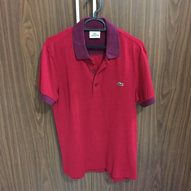 Polo LACOSTE red original