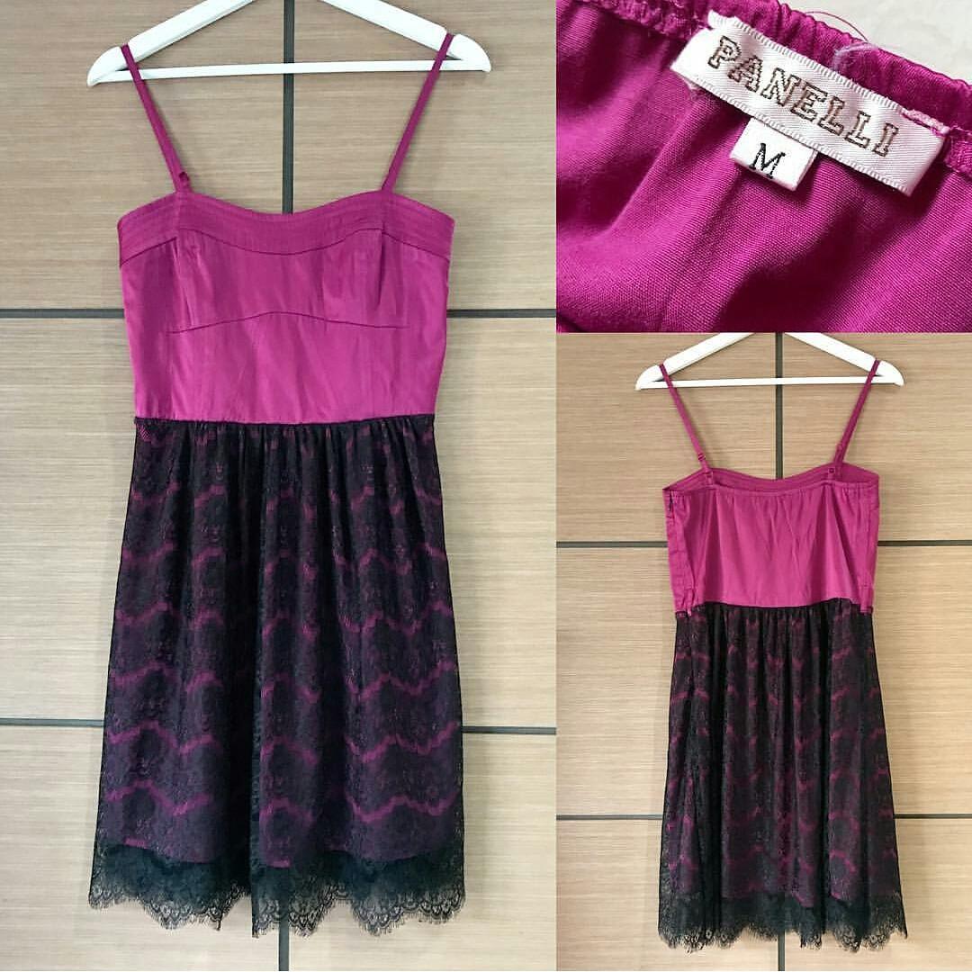 Prem silk purple lace dress