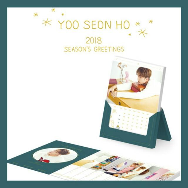 [PRE-ORDER] YOO SEONHO 2018 SEASON'S GREETINGS