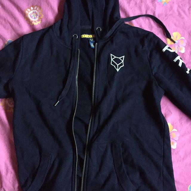 prince & fox navy hoodie