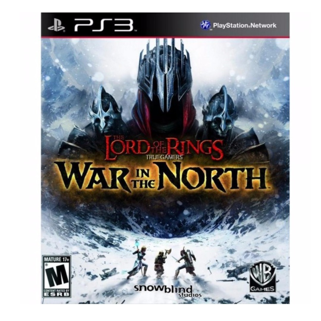 PS3 LORD OF THE RINGS WAR IN THE NORTH R2