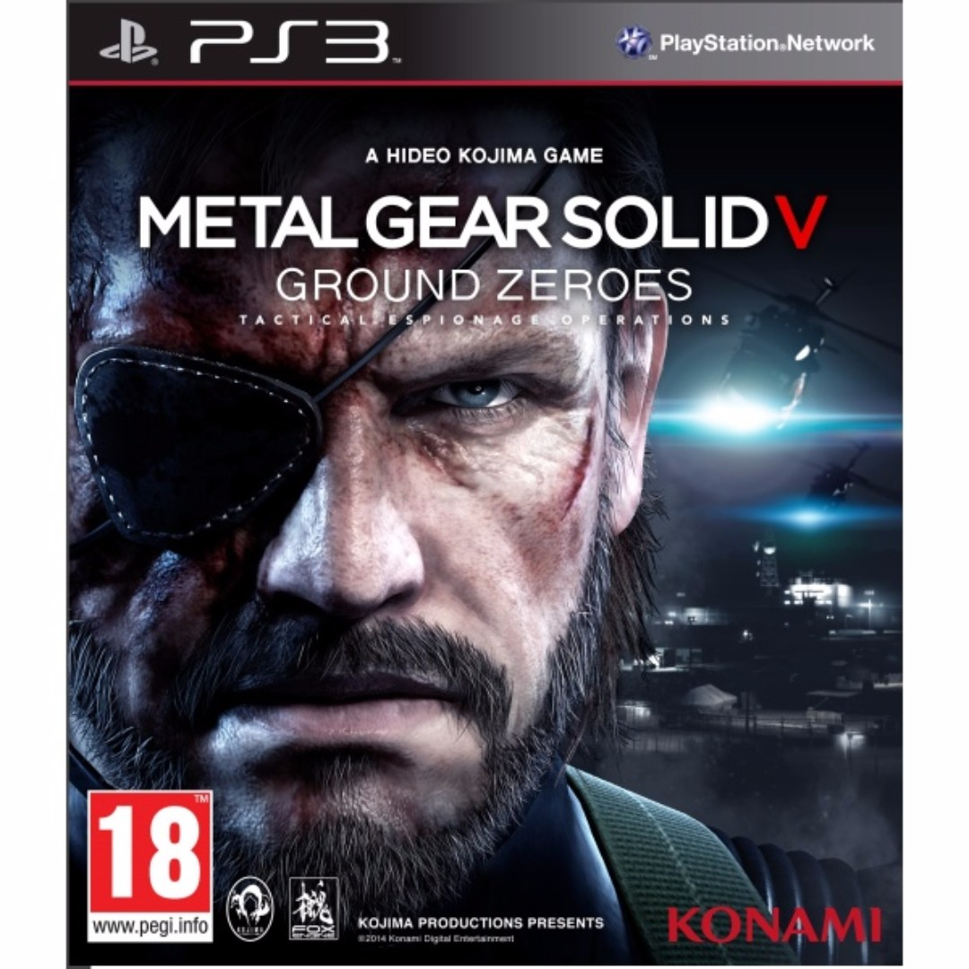 PS3 METAL GEAR SOLID V GROUND ZEROES - R3