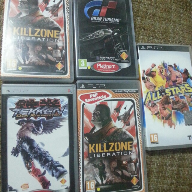 psp games with manual