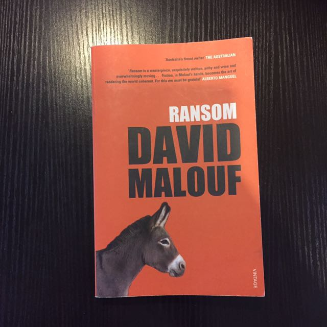 david maloufs ransom experiences Find great deals on ebay for ransom david malouf shop with confidence.