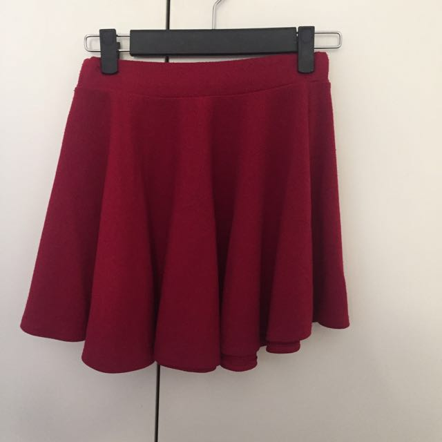 Red wine skirt