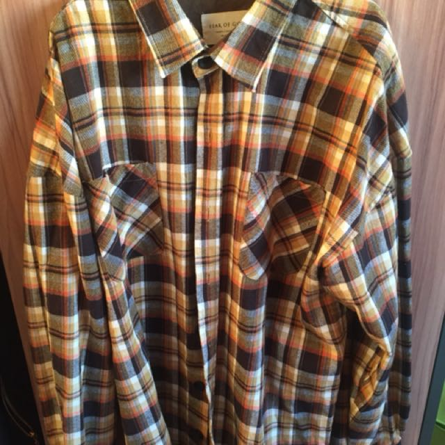 Replica Fear Of God Flannel