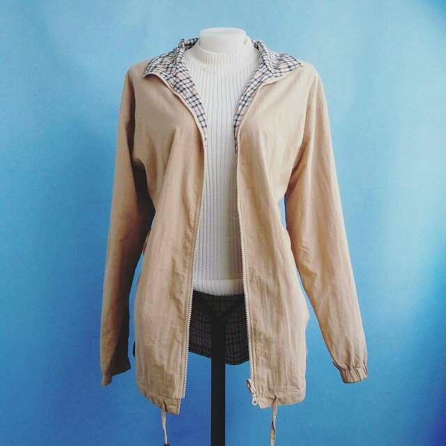 rose beige jacket