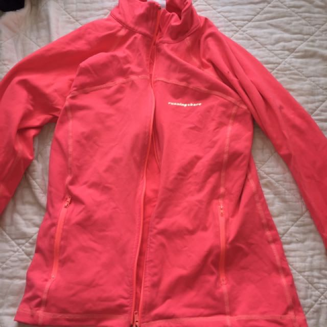 Running Bare pink Jacket- Small