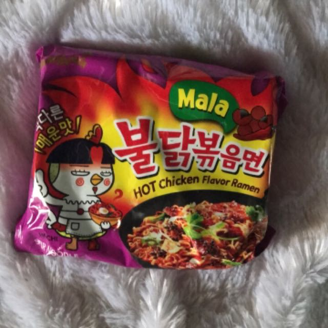 Samyang Mala 4x Spicy