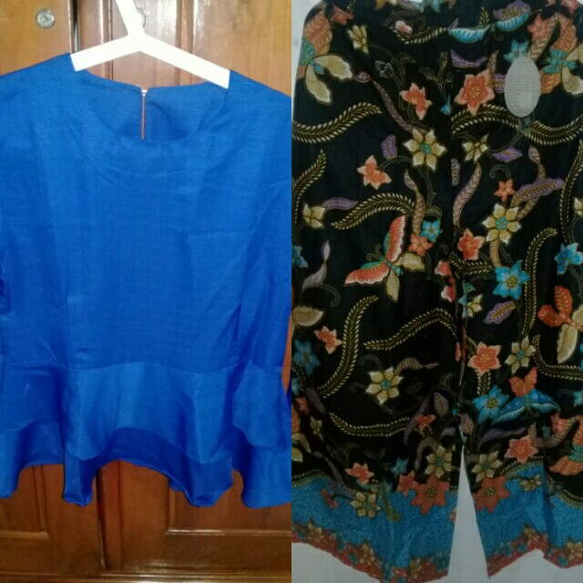Set blouse & kulot batik