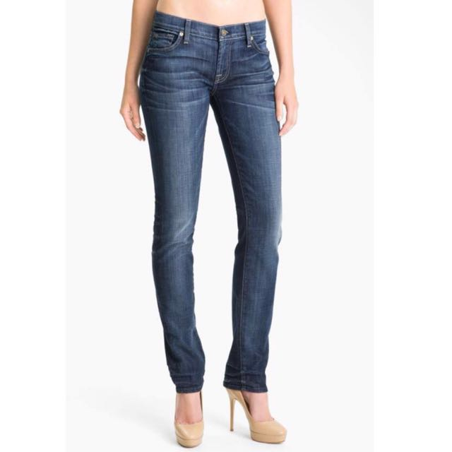 Seven for All Mankind Roxanne Medium Wash Jeans - Size 26
