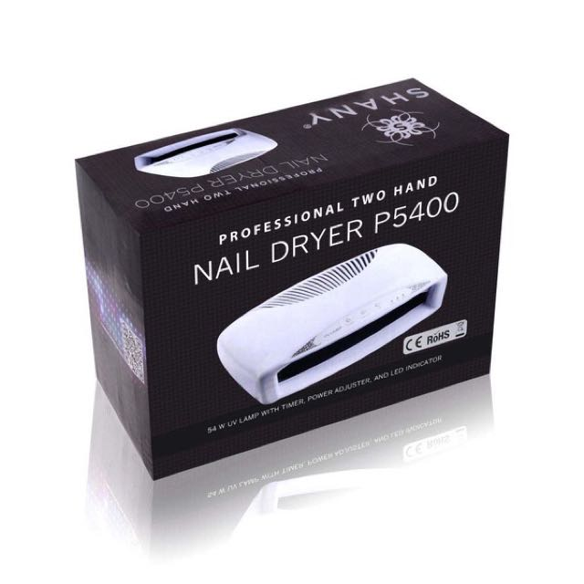 SHANY Salon Expert 54W Dual Hand Professional Nail Dryer with Fan ...
