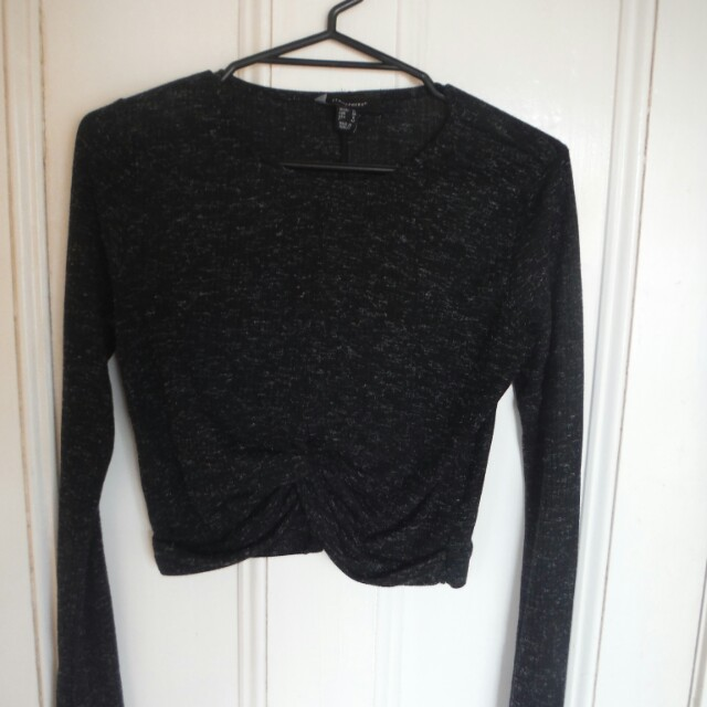 Size 8 Long sleeve crop