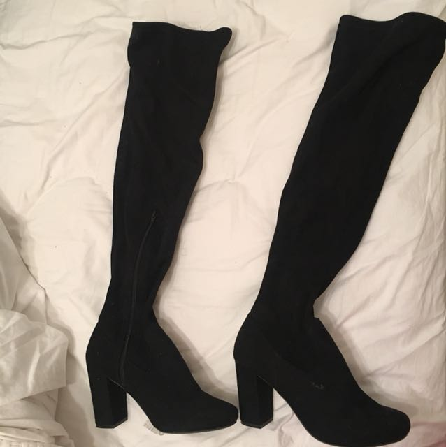 Size 9 over the knee boots