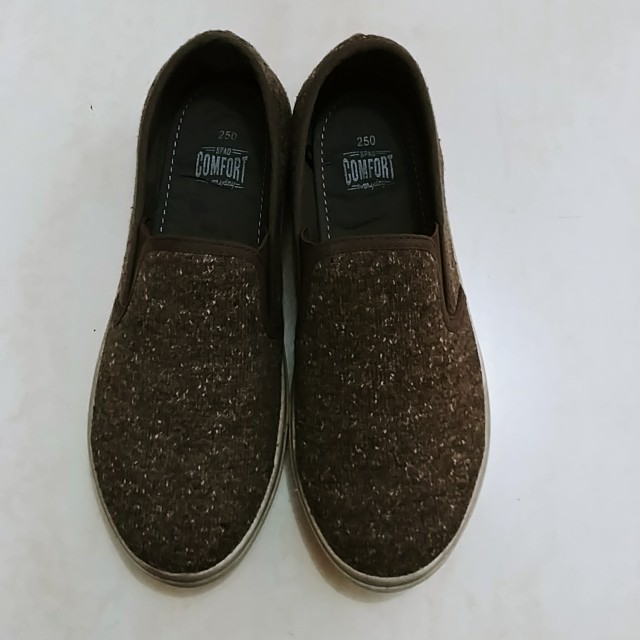 SPAO Brown Slip On