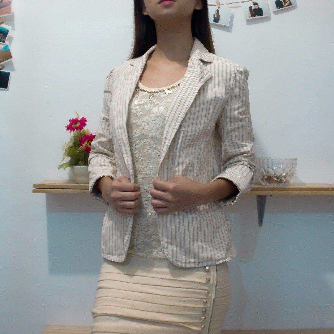 Dress and Blazer Combo