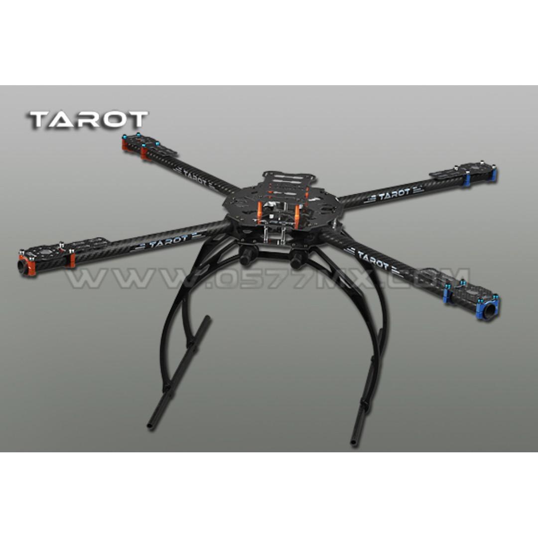 Tarot Iron Man 650 Foldable Quadcopter 3K Carbon Frame TL65B02 Drone ...