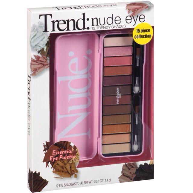 The Color Workshop Trend: Nude Eyes Eyeshadow Palette